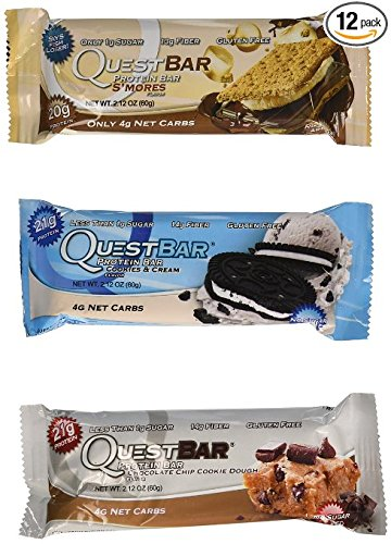quest protein bars variety pack - 3