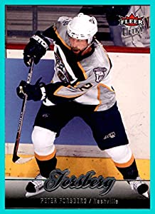2007-08 Ultra #85 Peter Forsberg NASHVILLE PREDATORS