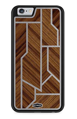 TPU Holz Handy Hülle Tasche Cover Case Schale Luxus für Apple iPhone (iPhone 7 Plus)