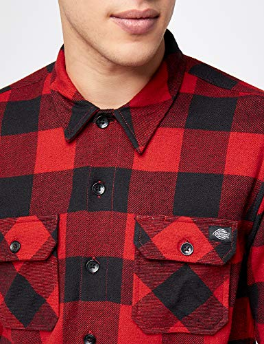 Rouge Dickies Casual Chemise Homme red Sacramento pxRprO