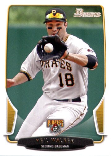 2013 Bowman Baseball Card #201 Neil Walker - Pittsburgh Pirates - MLB Trading (Pirates Trading Card Game)