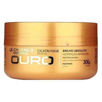 Linha Tratamento Le Charmes Cosmeticos - Cicatri Mask Banho de Ouro 300 Gr - (Le...