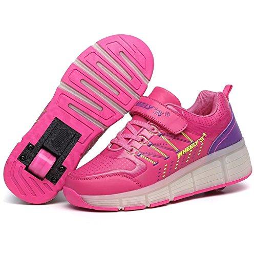 Girls Wheels Roller Skates Sneakers