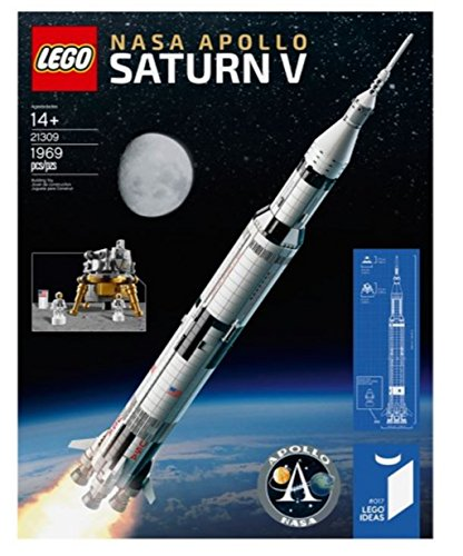 Lego Ideas Nasa Apollo Saturn V Set   21309  1969 Pieces  2017 Hard To Find