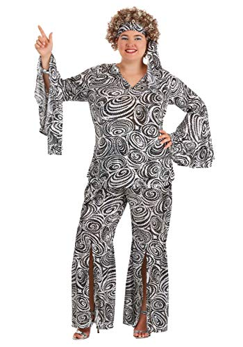 Plus Size Women's Foxy Lady Disco Dance