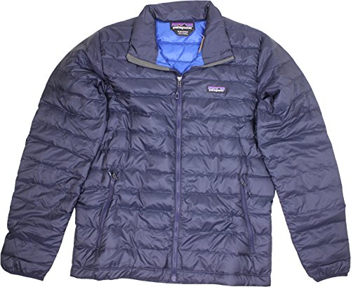 Patagonia Down Sweater Winter Jacket Navy Blue/Navy Blue Mens XS ()