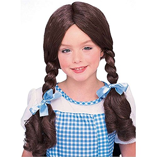 Rubie's Dorothy Kids Wig - One Size Brown]()
