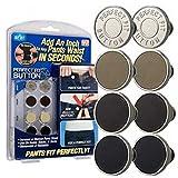 Kkang 8Pcs Button Perfect Fit Instant Jeans Buttons