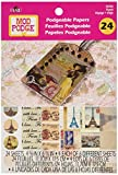 Mod Podge Podgeable Papers, 12933 Travel (24-Sheets)