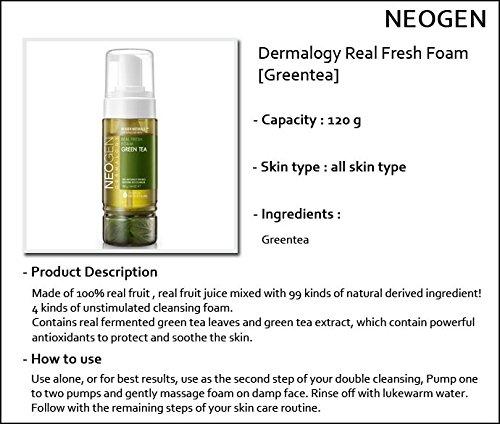Green Tea Real Fresh Foam Cleanser by neogen dermalogy #14