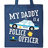 Inktastic - My Daddy is a Police Officer Tote Bag Royal Blue 2f98a