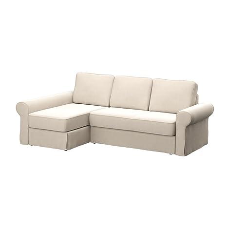 Soferia - IKEA BACKABRO Funda para sofá con chaiselongue ...