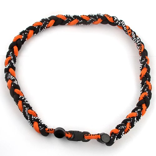 MapofBeauty Fashion Braided Tornado Necklace product image