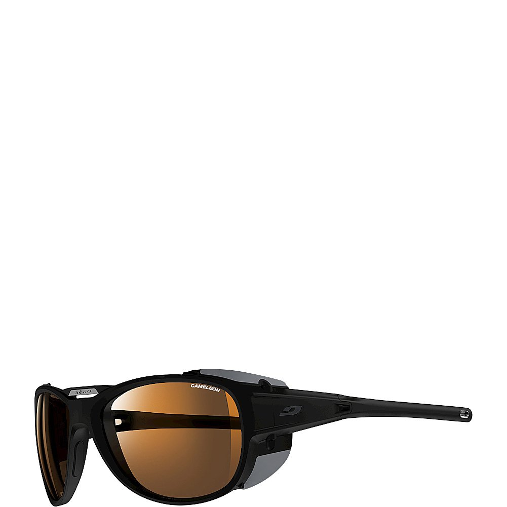 266768f2ae Buy Julbo Explorer 2.0 Mountaineering Glacier Sunglasses - Camel - Matte  Black Black Online at Low Prices in India - Amazon.in