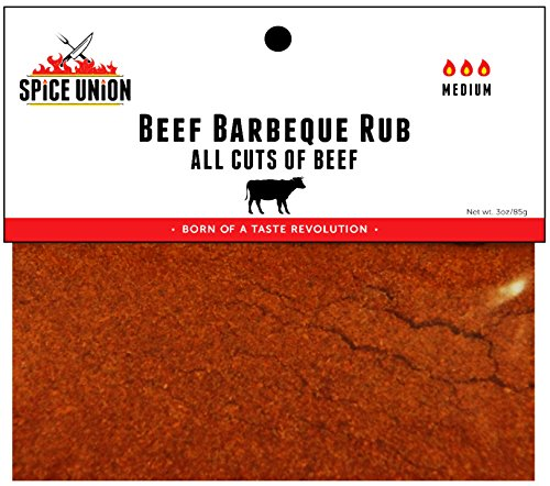 Spice Union Beef Barbeque Rub, 3 Ounce (Beef Tenderloin Fillet)