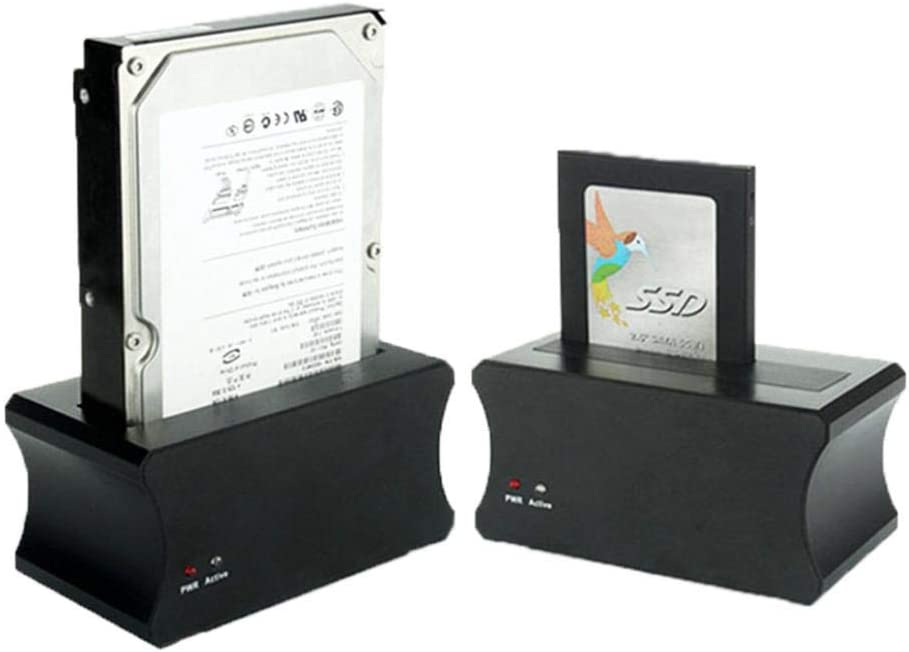 BlackUS Plug HDD 2.5 3.5 inch USB 3.0 to SATA External Hard Drive Enclosure Docking Adapter