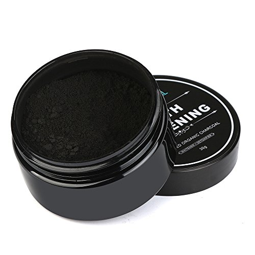 Price comparison product image Teeth Whitening Powder,Promisen Bamboo Toothpaste Activated Charcoal Destroys Bad Breath Removes Coffee Stains