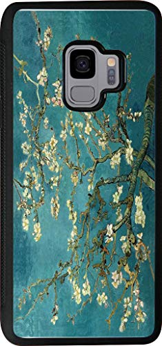 Hard Rubber Phone Case for Samsung Galaxy S9 Case Cover - Vincent Van Gogh Almond Blossoms (Gogh Designs Ships Van)