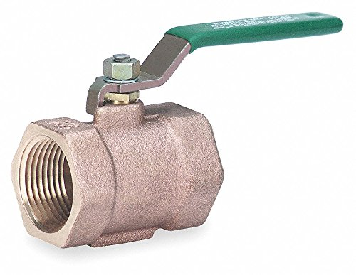 Bronze 1//2 Pipe Size Milwaukee Valve Butterfly Disc Valve 175 psi