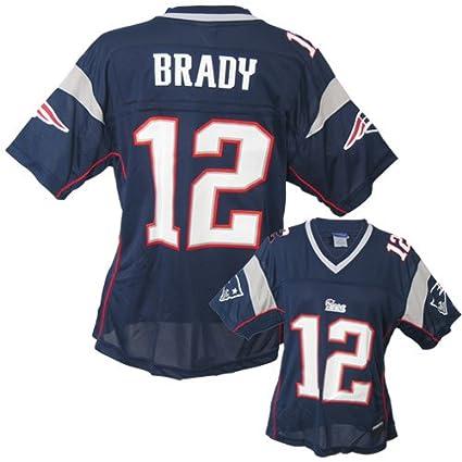 Reebok New England Patriots Tom Brady Women s Replica Jersey Extra Large 324947b21