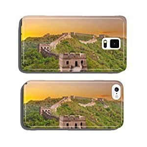 Great Wall of China during sunset cell phone cover case iPhone6 Plus