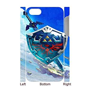 The Legend of Zelda for iphone4 4S 3D Cell Phone Case & Custom Phone Case Cover R23A879329
