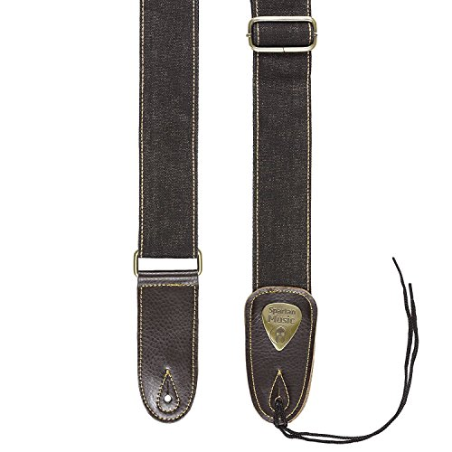 Leather & Cotton Adjustable Guitar Strap 1.5m For Acoustic / Electric /...