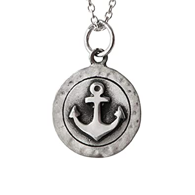 Inspired Goods Anchor Yourself Necklace