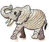 Nipitshop Patches African Elephant Novelty Animals