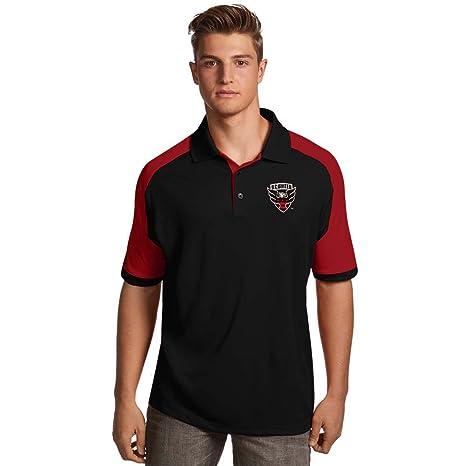 DC United - siglo polo equipo de (color: negro), Negro, rojo ...