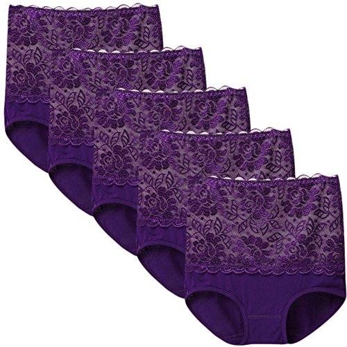Sept.Filles - Culottes - para mujer morado