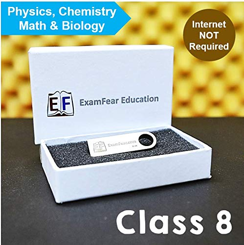 ExamFear Education CBSE Class 8 Preparation (Pendrive + OTG connector)