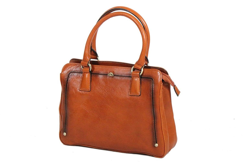 Katana Cow Leather Handbag Vegetable 66804 K neck