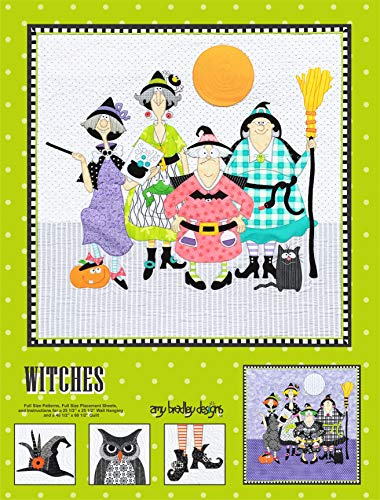 Amy Bradley Designs ABD285 Witches Quilt Pattern
