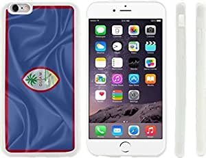Rikki KnightTM Guam Flag Design iPhone 6 Plus Case Cover (Clear Rubber with raised front bumper protection) for Apple iPhone 6 Plus Kimberly Kurzendoerfer