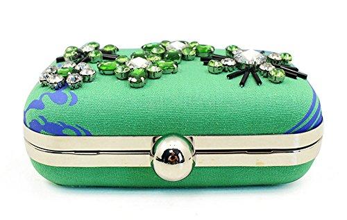 femme Pochette Pochette Ouvin green femme Ouvin pour green pour ax0vAwOq
