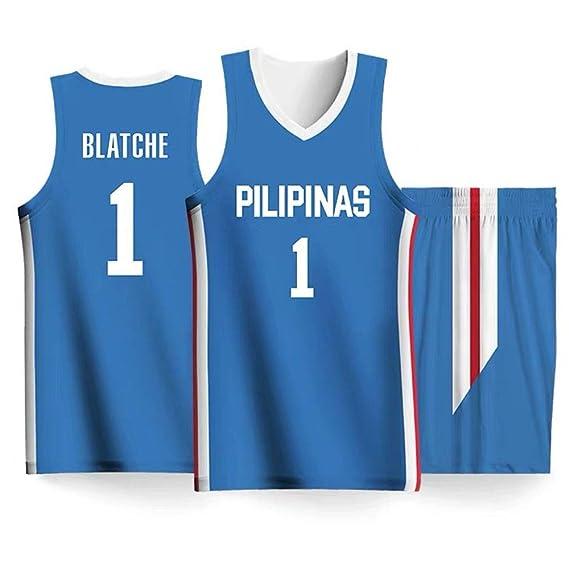 Andray Blatche #1 Ropa De Baloncesto para Hombres - NBA The ...