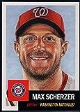 #4: Baseball MLB 2018 Topps Living Set #52 Max Scherzer Nationals