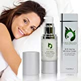 Best Anti-Aging Cream - 100% Paraben & Phalthate Free Anti-Aging Wrinkle Cream with Matrixyl 3000 by Ideal Beauty - Promotes Collagen Build-up. Deep Hydrating and Moisturizing Anti-Aging Cream Reduces Fine Lines & Wrinkles, Improves Cell Regeneration All in One Wrinkle, Face, Eye, Neck and Body Cream. Use At Night While You Sleep or During the Day.
