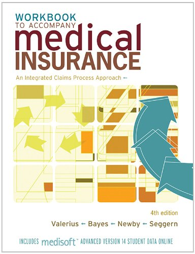 Download Study Guide/Workbook to Accompany Medical Insurance: An Integrated Claims Approach 4/e Pdf