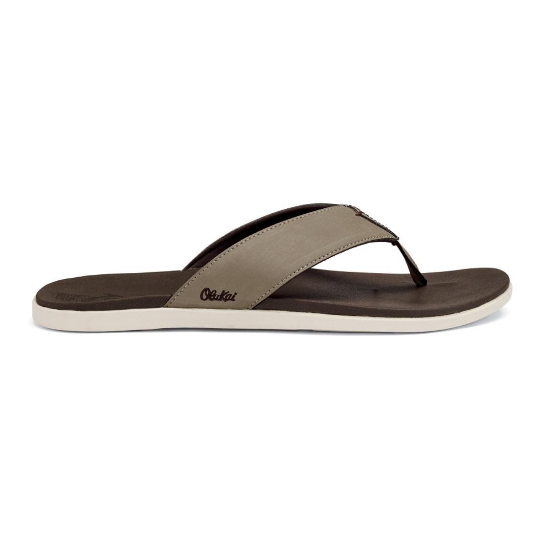 OluKai Men's Holona / Sandale Clay / Holona Dark Java 70ea6e