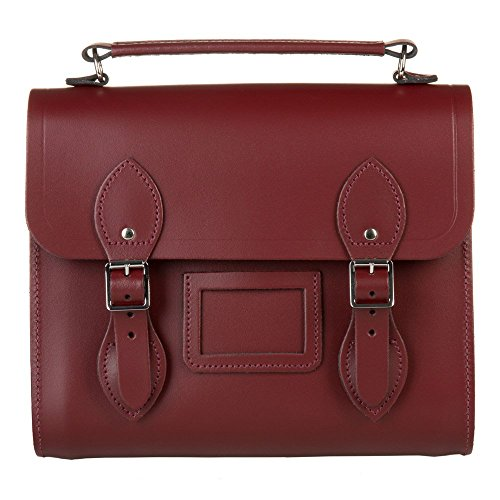 The Cambridge Satchel Company Barrel Oxblood Womens Backpack Oxblood One Size