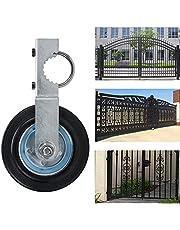 "Standard Gate Helper Wheel,Gate Helper Wheel with 1-5/8"" Thru 2"" Gate Frames, 6"" Gate Wheel Gate Support Wheel for Chain Link Fence Swing Gate"