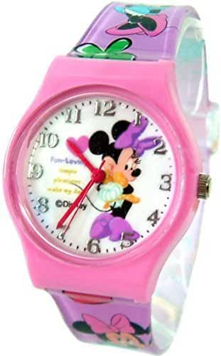 Disney Minnie Mouse Watch For Kids .Large Analog Dial. 9