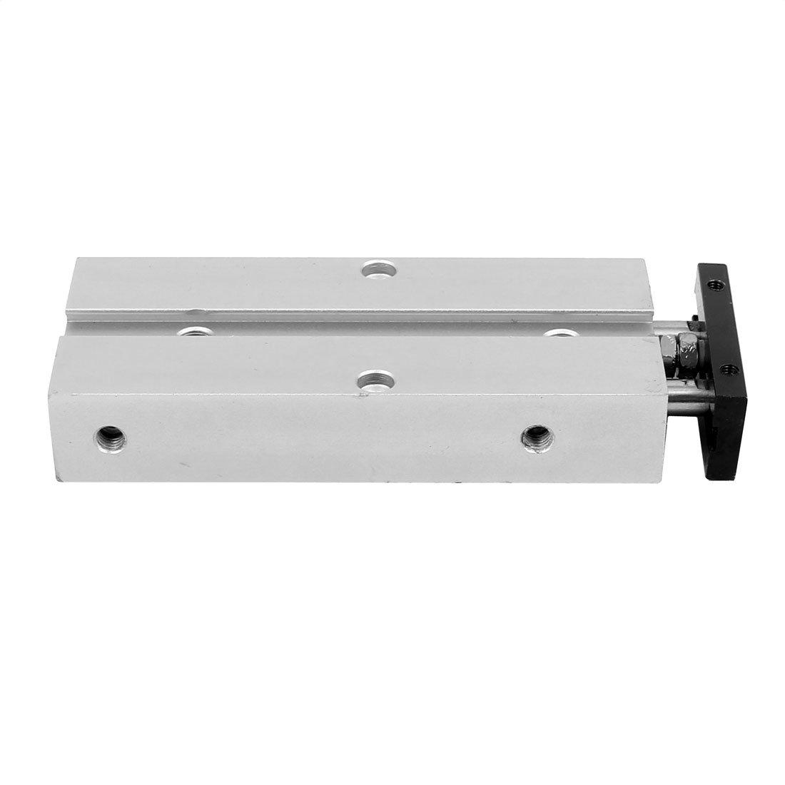 sourcing map TN10x50 Magnet Magnetisch Doppelkolbenstange Luftdruckzylinder Pneumatikzylinder DE de