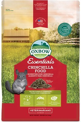 Oxbow Chinchilla (Oxbow Animal Health Chinchilla Deluxe Fortified Small Animal Feeds, 5-Pound)