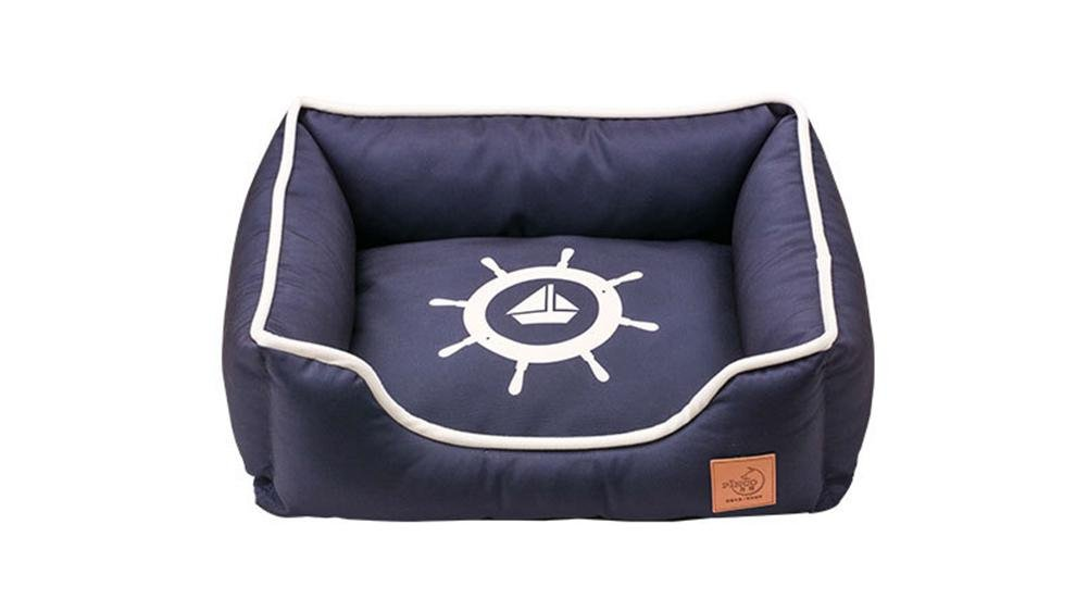 A l A l Dog Bed, Deluxe Pet Bed for Cats Dogs Rectangle Cuddler Removable, Washable RE-010, A, l