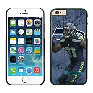 Seattle Seahawks Kam Chancellor Case Cover For SamSung Galaxy S3 NFL Cases Black NIC13686