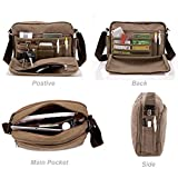 Men's Multifunctional Canvas Messenger Handbag