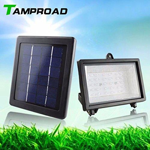 - New White : TAMPROAD Solar Panel Lighting Kit Solar Home System 45 LED Outdoor Wireless Solar Energy Powered Dark Sensor Light Ponds Lamp